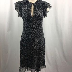Diane von Fustenberg Silk Animal Print Dress 4